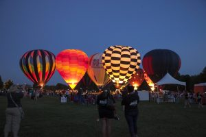 Rib-Fest and Avon Balloon Glow