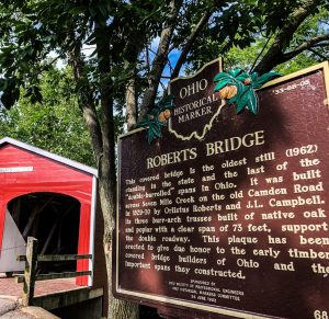 Roberts Bridge in Preble County Ohio