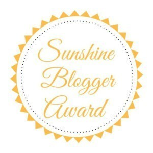 Sunshine Blogger Award Nomination