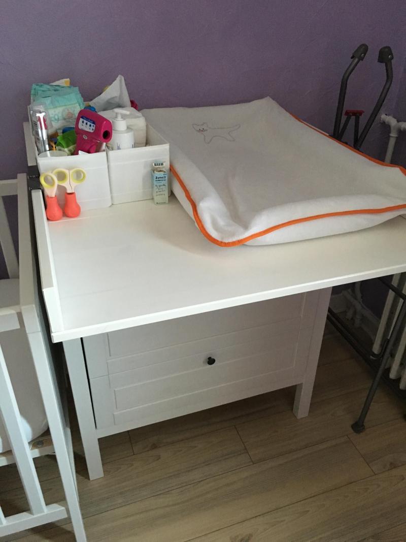 Table à Langer Rangement Leksvik Ikea Avis