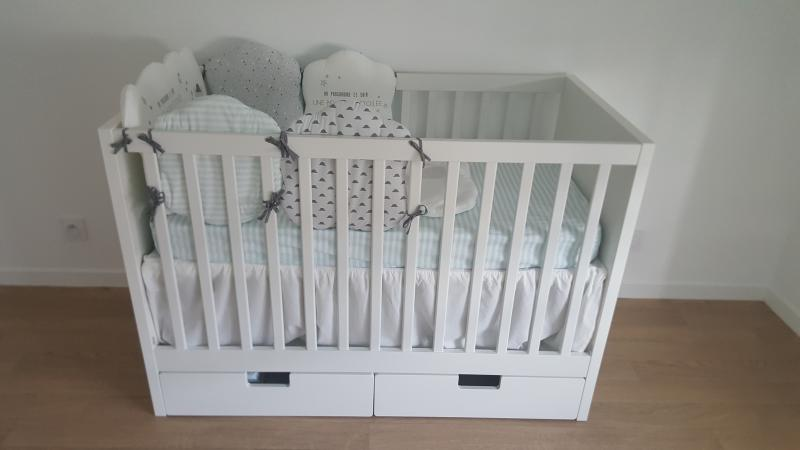 Lit Enfant Tiroirs 60x120 Stuva IKEA Avis