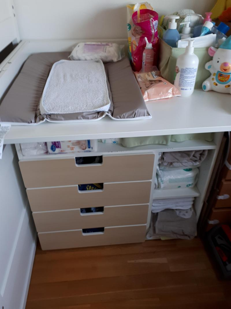 Table à Langer évolutive Stuva Ikea Avis