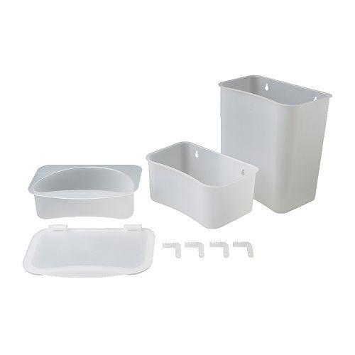 Corbeille Table à Langer Lattsam X3 Ikea Avis