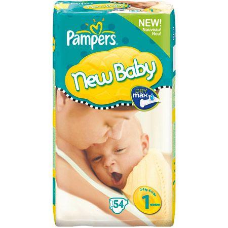 Couches NEW BABY Nouveau N T1 25 KG PAMPERS Avis