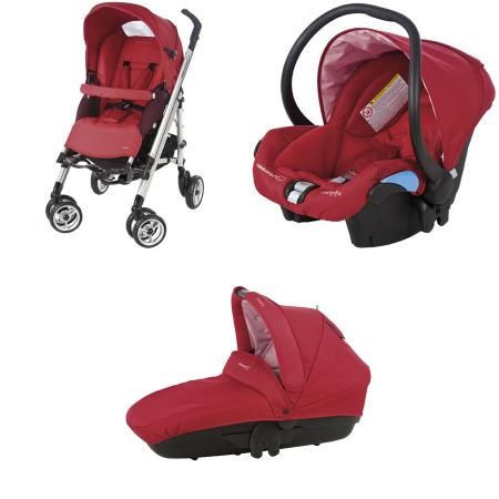 poussette bebe confort streety rouge