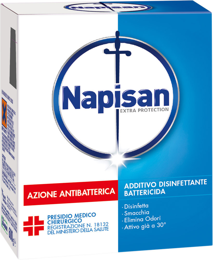 Additivo Disinfettante Battericida In Polvere Napisan