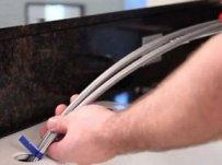 faire glisser les éléments du mitigeur