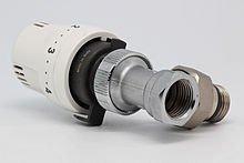 robinet et vanne thermostatique pour économies d'énergies