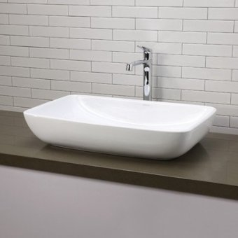 lavabo rectangulaire de salle de bain