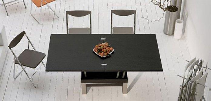 table basse relevable classique