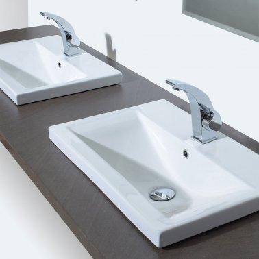 vasque semi encastrée