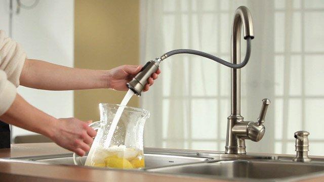 douchette extensible pour robinet mitigeur