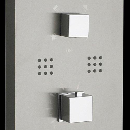 colonne de douche Hudson Reed thermostatique hydromassante