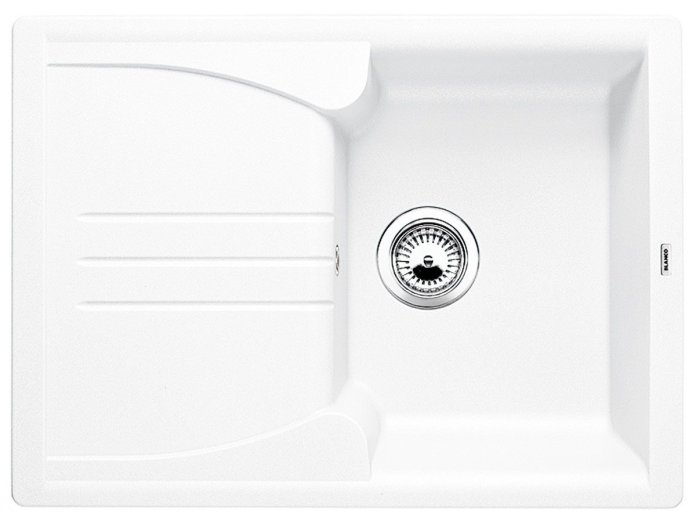 évier BLANCO ENOS blanc en Silgranit blanc