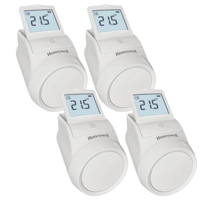 set de 4 têtes thermostatiques evohome Honeywell