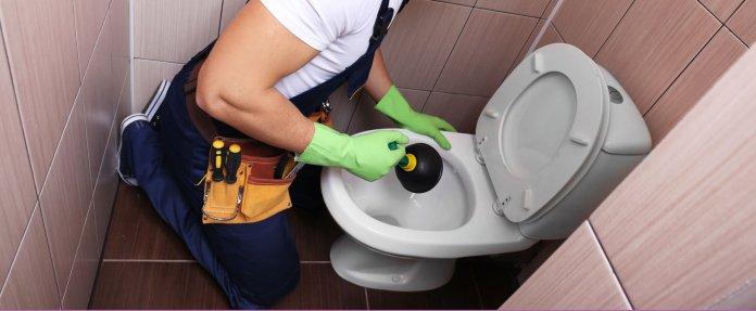 déboucheur pour WC de type ventouse