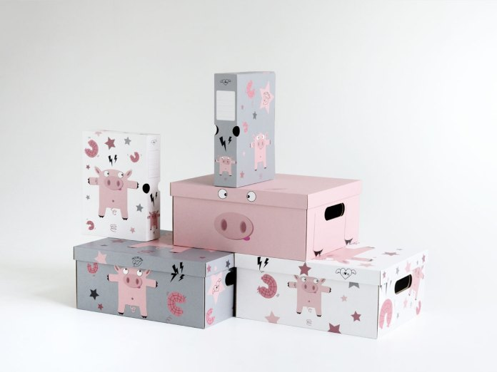 boîtes pour rangements chambre enfant