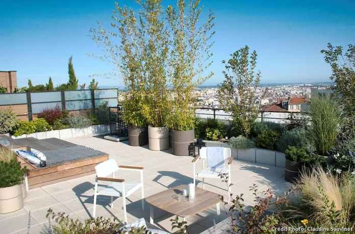 garde corps pour toit terrasse