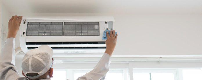 un professionnel de la climatisation