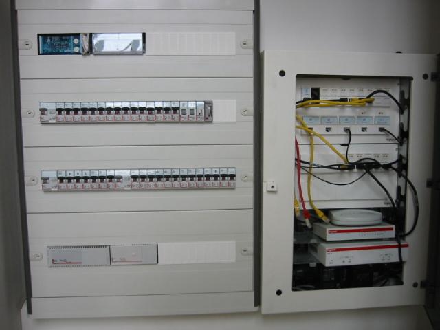 Une installation électrique aux normes françaises