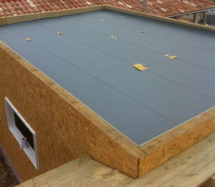 Isolation d'un toit-terrasse