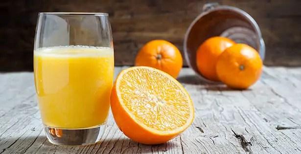 jeûne sans danger jeûner purifier organisme santé jus d'oranges