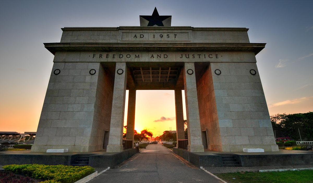 Il primo presidente della storia del Ghana è stato Nkrumah
