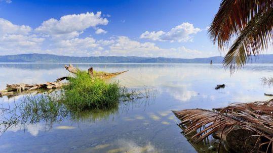 Lago Bosumtwi in Ghana
