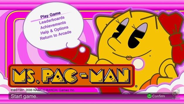 Arcade: Ms. Pac-Man