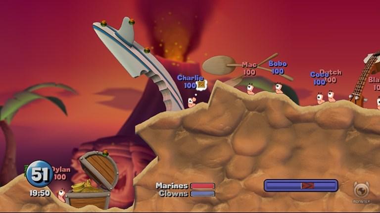 Arcade: Worms