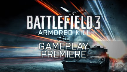 Battlefield 3 - Armored Kill Gameplay Trailer