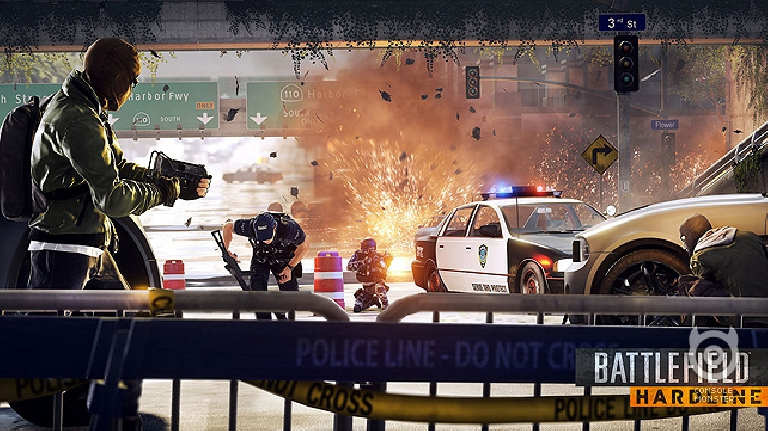 Battlefield Hardline tops UK Video Games Chart for fourth successive week