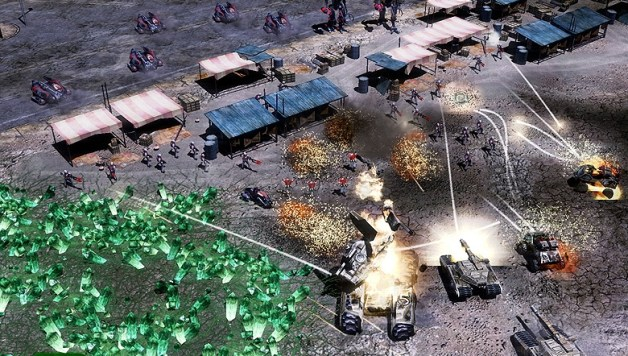 Command and Conquer 3 strikes the 360