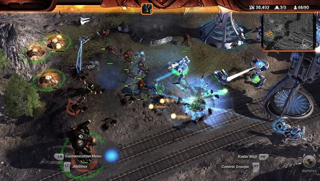 Demo: Universe at War: Earth Assault