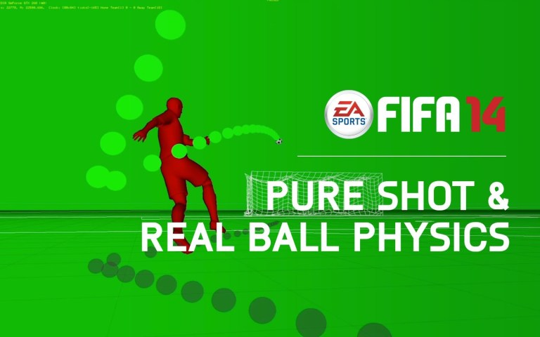 FIFA 14 - Pure Shot & Real Ball Physics - Features Trailer