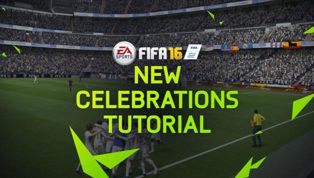 FIFA 16 - New Celebrations Tutorial