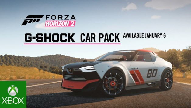 Forza Horizon 2 - G-Shock Car Pack