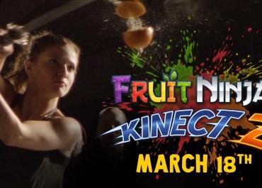 Fruit Ninja Kinect 2 - Live Action Trailer