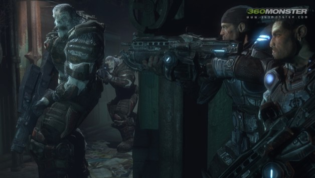 Gears of War: Hype Begins.