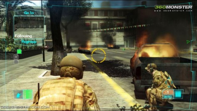 Ghost Recon 3 Multiplayer Screens