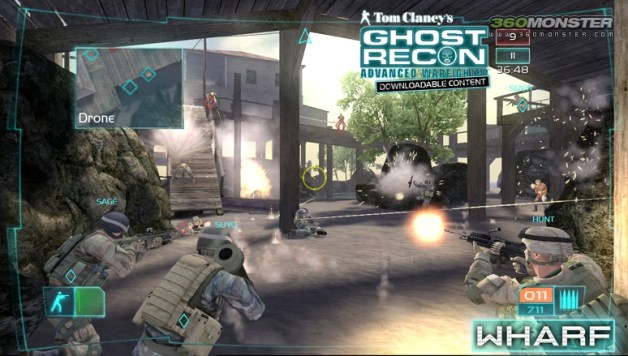 Ghost Recon Multi-player Lobby Screenshot