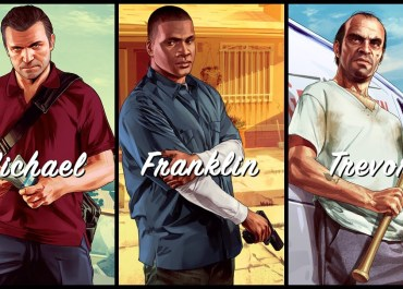 Grand Theft Auto V - Michael. Franklin. Trevor.