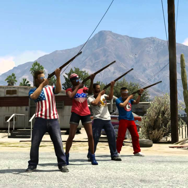 Grand Theft Auto V - The Independence Day Special -- Musket