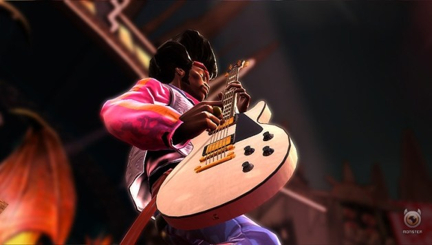 Guitar Hero outsells Rock Band by 6 to 1