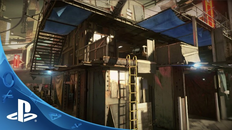 Killzone Shadow Fall - Shadow Fall Intercept Co-Op Map Pack Containment City & Checkpoint