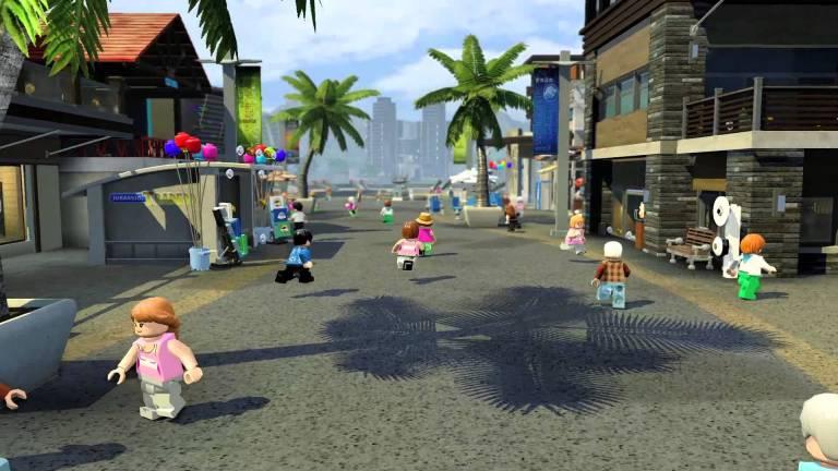 LEGO Jurassic World - VIP Tour of Park