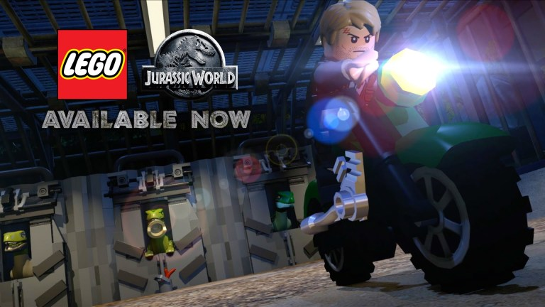 LEGO Jurassic World tops UK Video Games Chart