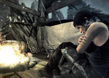 Lara Strutting Her Stuff