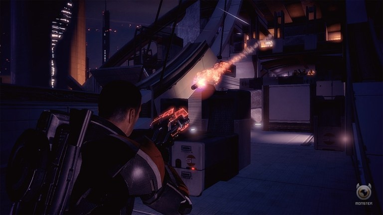 Mass Effect 2 item scanning improved