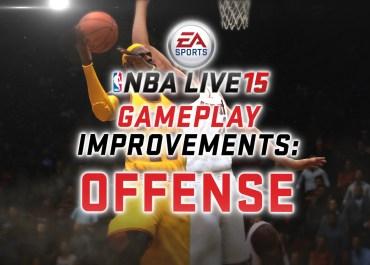 NBA Live 15 - Gameplay Improvements - Offense
